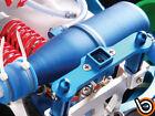 TRAXXAS 1/10 REVO 2.5 3.3 REAR BODY POST CNC ALUMINIUM ALLOY BLUE by Blitz