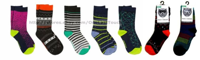 PAIR OF THIEVES 2 Pair BOY SOCKS Shoe Size 3-11 SNEAKY PERFORMANCE *YOU CHOOSE*