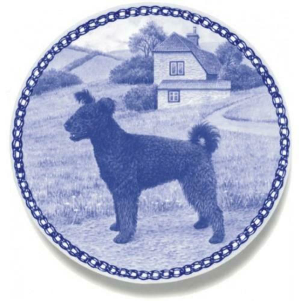 Pumi - Dog Plate made in Denmark from the finest European Porcelain