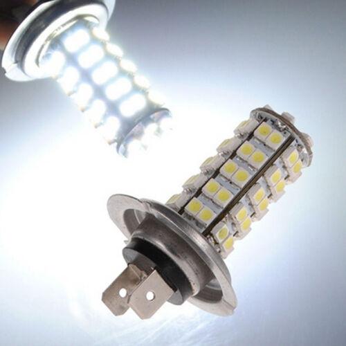 Car H7 68 SMD LED White Xenon Head Headlight Fog Daytime Light Bulb Bright