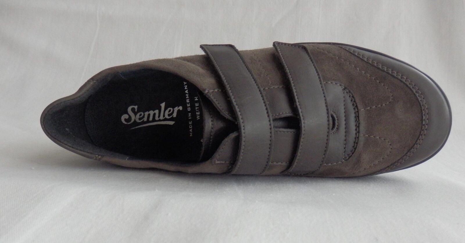 Semler Klettschuhe Slipper Klettschuhe Semler fango Leder Gr. 37(4), 37,5(4+), 41(7), 43(9) afe743
