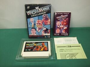 Nes Wwf Wrestlemania Challenge Famicom Japan Game 11008 2 4967948000485 Ebay