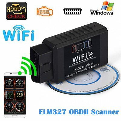 WIFI OBD2 OBDII Interface Car Fault Diagnostic Scanner Scan Tool for iOS Android