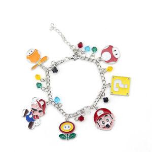 Game-Super-Mario-Bracelets-Bro-Highest-Quality-Mario-Lovely-Mushroom-Bracelet