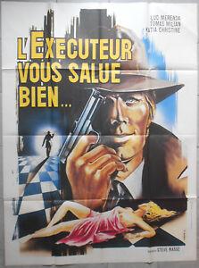 Affiche-L-039-EXECUTEUR-VOUS-SALUE-BIEN-Stelvio-Massi-LUC-MERENDA-120x160