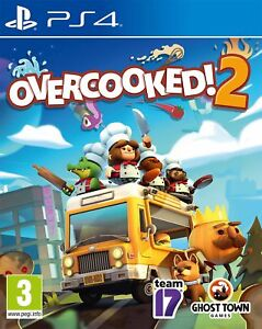 Overcooked! 2 PS4 Game