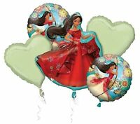 Disney Princess Elena Of Avalor Birthday Party Favor Balloon Bouquet 5pc Kit
