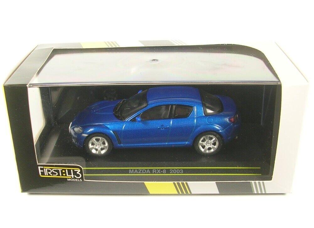Mazda RX-8  (bluee) 2003 RHD RHD RHD c7f13b