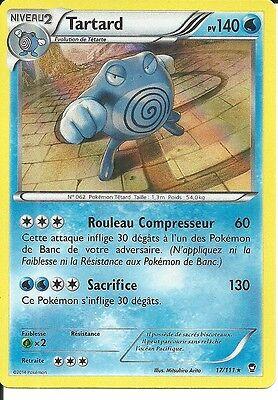 Carte Pokémon TARTARD PV  140 Holo  Rare  XY Poings Furieux 17//111