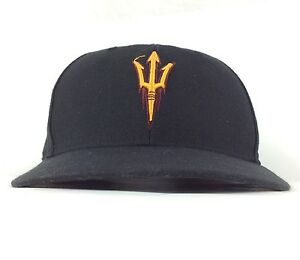 1ff2b34fd89 NCAA Arizona State University ASU Sun Devils 47 Brand Black Baseball ...