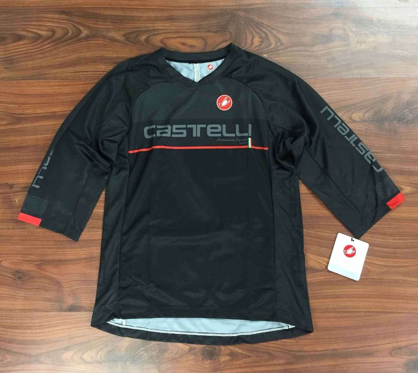 Castelli MTB Jersey Men's Dimensione XS New