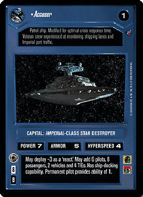 Superlaser Mark II Near Mint//Mint DEATH STAR II star wars ccg swccg