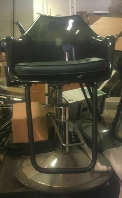 Extra Wide Red Hydraulic Barber Chair Styling Hair Beauty Salon Equipment For Sale Online Ebay