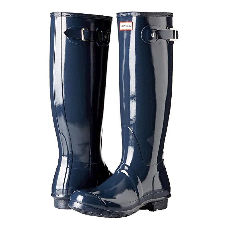 Womens Hunter Original Tall Gloss Rain