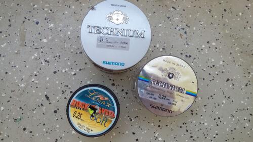Angelschnur SHIMANO Tecnnium + Zemax Rocket Speed Soft / NEU