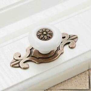 3x Poignee Meuble Porte Tiroir Placard Europeen Antique Retro Decor Chambre Mode Ebay