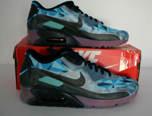 Nike Air Max 90 Ice Pack Men's Running Shoes SlateDark ObsidianBlue 631748 400