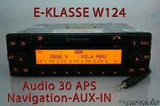 MERCEDES sistema di navigazione originale w124 c124 classe e audio 30 APS Aux-in navi