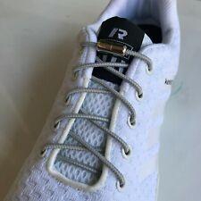 3 Pairs Elastic Shoe Laces Triathlon Marathon Running Run Shoelace Release Blue