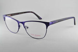 113bea2b310 Image is loading Ted-Baker-Eyeglasses-B238-Blue-Purple-Size-52-