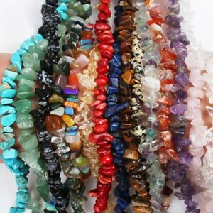 Lot-5-8mm-Natural-Freeform-Stone-Chips-beads-strand-gemstones-Jewelry-Making-15-034