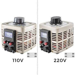 2KVA-Variable-Transformer-Power-Voltage-110V-0-130V-Accuracy-60Hz-Copper-Coil