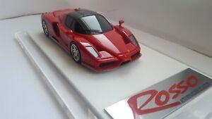 Ferrari Enzo Pininfarina Fx Rosso Salon de Tokyo 2002 Modèle de résine rare à l'échelle 1/43