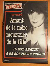 Détective 96-19/07/1984-Ostende,amant de la mère,meurtrier de la fille, abattu