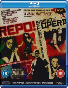 Alexa-Vega-Paul-Sorvino-Repo-The-Genetic-Opera-Blu-ray-NUOVO