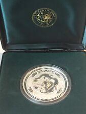 VERY RARE Lunar Series 1 Dragon 10 oz 999 Silver Bullion Coin Perth Mint 2000