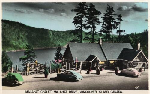 Print BC Canada 1951-3 Malahat Malahat Chalet