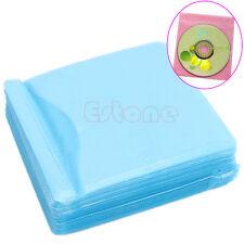 100PC/Set CD DVD Disc Double Side Cover Storage Case Bag Sleeve Envelope Holder