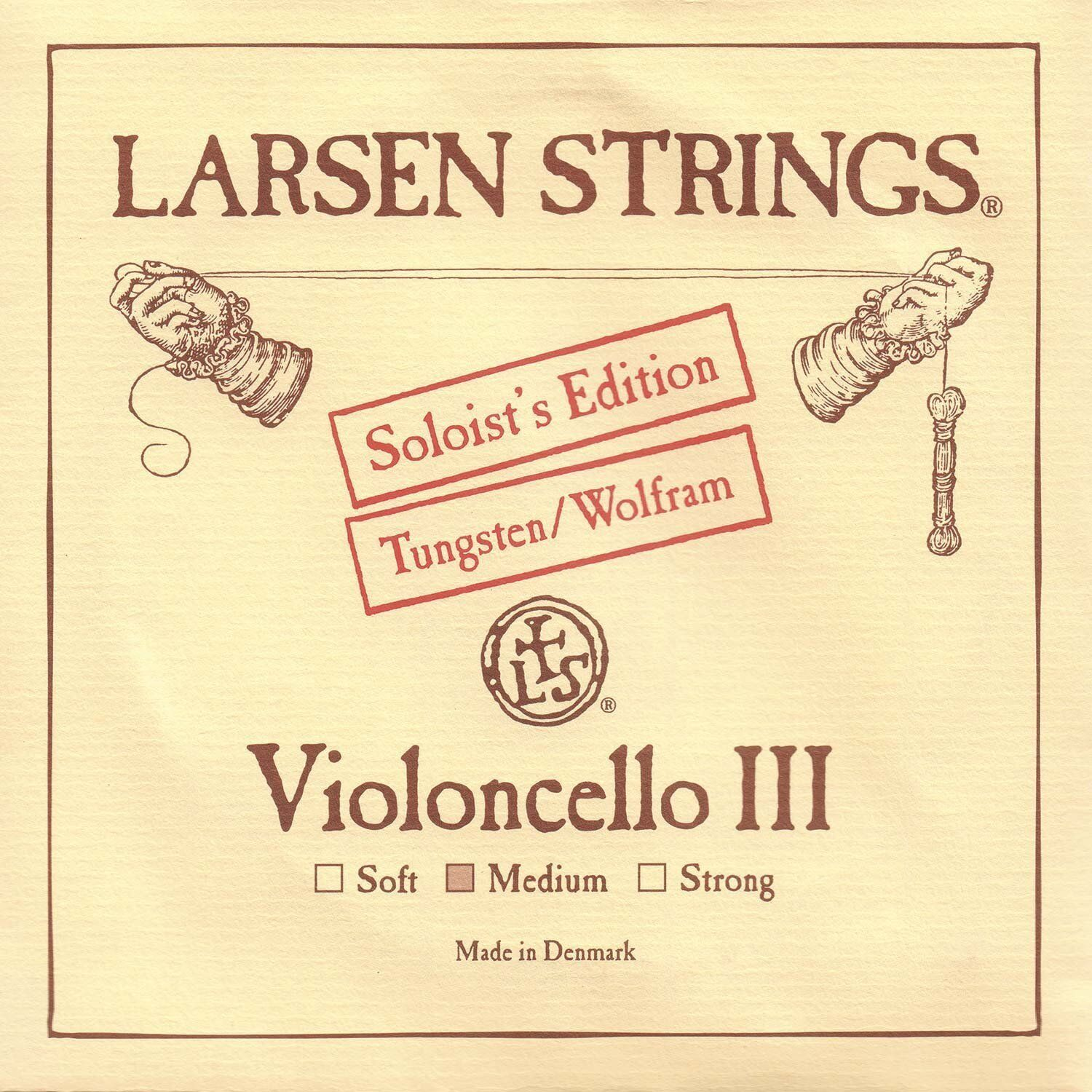 Larsen Strings Cello Soloist's Tungsten Cello G String-- Medium