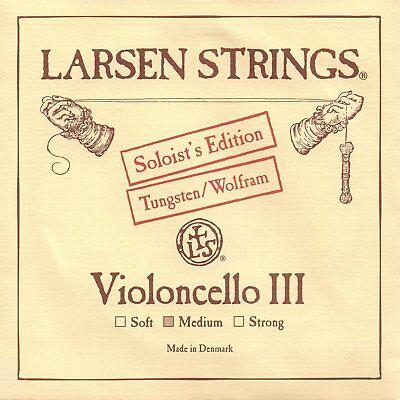 Medium Free Shipping Cellos Larsen Strings Cello Soloist's Tungsten Cello G String- String