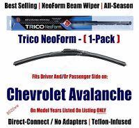 Super Premium Neoform Wiper Blade 1-pack Fits 2007 Chevrolet Avalanche 162213