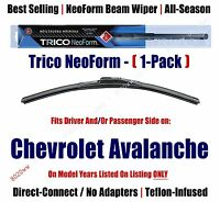 Super Premium Neoform Wiper Blade 1-pack Fits 2009-13 Chevrolet Avalanche 16220