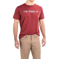 Dolly Varden I'd Fish It Fishing T-shirt - Choose Size - Color Red -