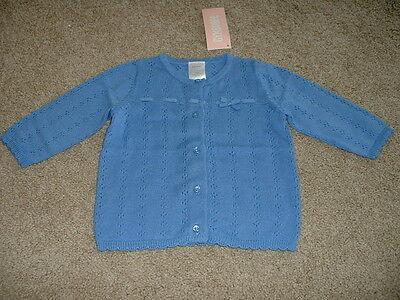 NEW Baby Girls Gymboree All Ruffled Up Cardigan Sweater Size 0-3 months mos NWT