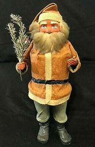 HUGE-20-GERMAN-SANTA-CANDY-CONTAINER-VINTAGE-WOODCUTTER-ANTIQUE