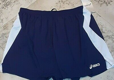 Asics Mens Intensity Shorts Fitness Running Workout Athletic M Blue Lined   | eBay
