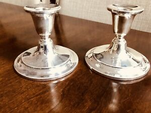 Pair-of-Silver-Plate-Candle-Holders-Silver-by-Burche