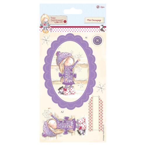 11 pièces-flocon de neige Tilly daydream mini decoupis