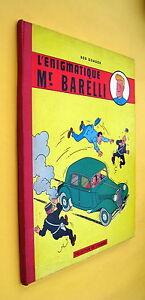 L-ENIGMATIQUE-MR-BARELLI-BOB-DE-MOOR-LOMBARD-REED-DE-1961-BON-ETAT