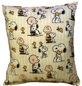 Snoopy Pillow Charlie Brown Pillow Snoopy & Woodstock Rare Snoopy Find