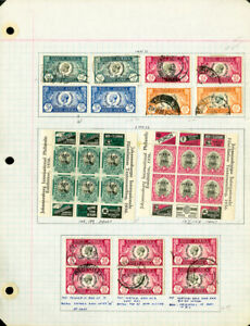 South-Africa-Early-to-mid-1900s-High-Value-Stamp-Collection