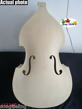 Hand carved SONG Brand white/unfinished 3/4 upright double bass #11167