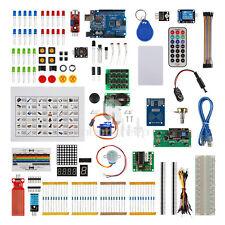 Full Edition UNO R3 Starter Kit for Arduino 1602LCD RFID Servo Relay PIR Adapter