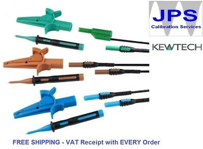 Kewtech ACC063 3 Wire non-fused lead set for KT63 Multifunction Testers