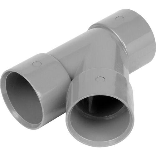 NEW 4 x plumbing Waste pipe Solvent  Weld 135° Branch 40mm Grey Each FreePost.UK