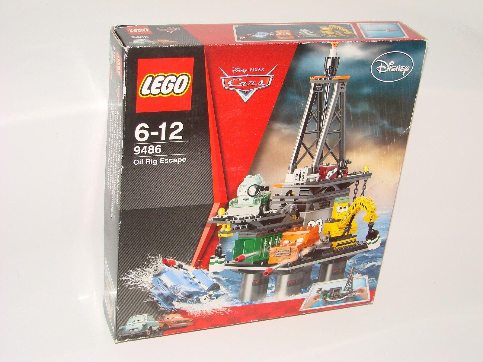 LEGO® CARS 9486 Flucht v d Ölbohrinsel NEU B-Ware_Oil Rig Escape MISB 2nd choice